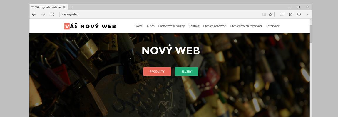 Webové stránky na redakčním systému WordPress